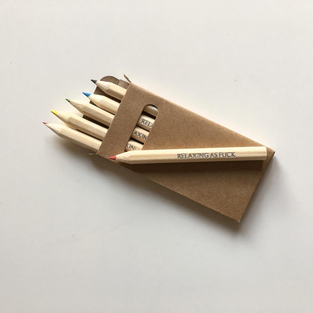 Adult colouring pencils (mini)