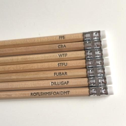 Acronym pencils