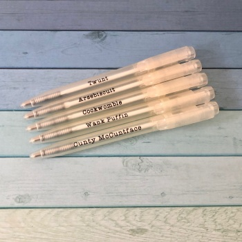 Profanity eco pen - pack of 5