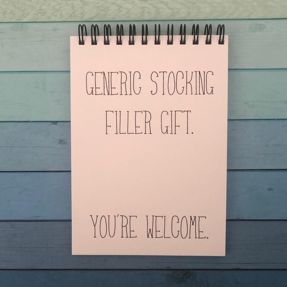 Generic stocking filler gift