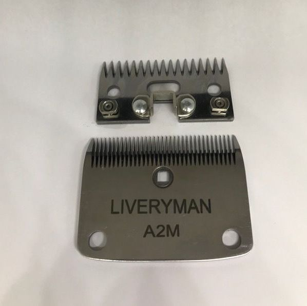 Liveryman A2 Medium Blades For Lister Clippers