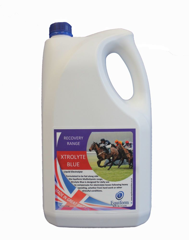 Equiform Xtrolyte Blue 5 Litres or Buy 4 and get one free - CLICK TO BUY