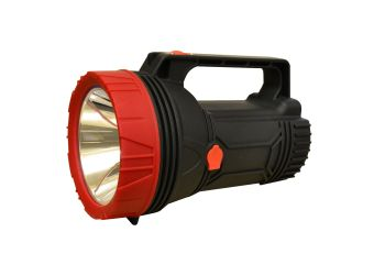 Explorer electric torch.  Rechargeable battery
