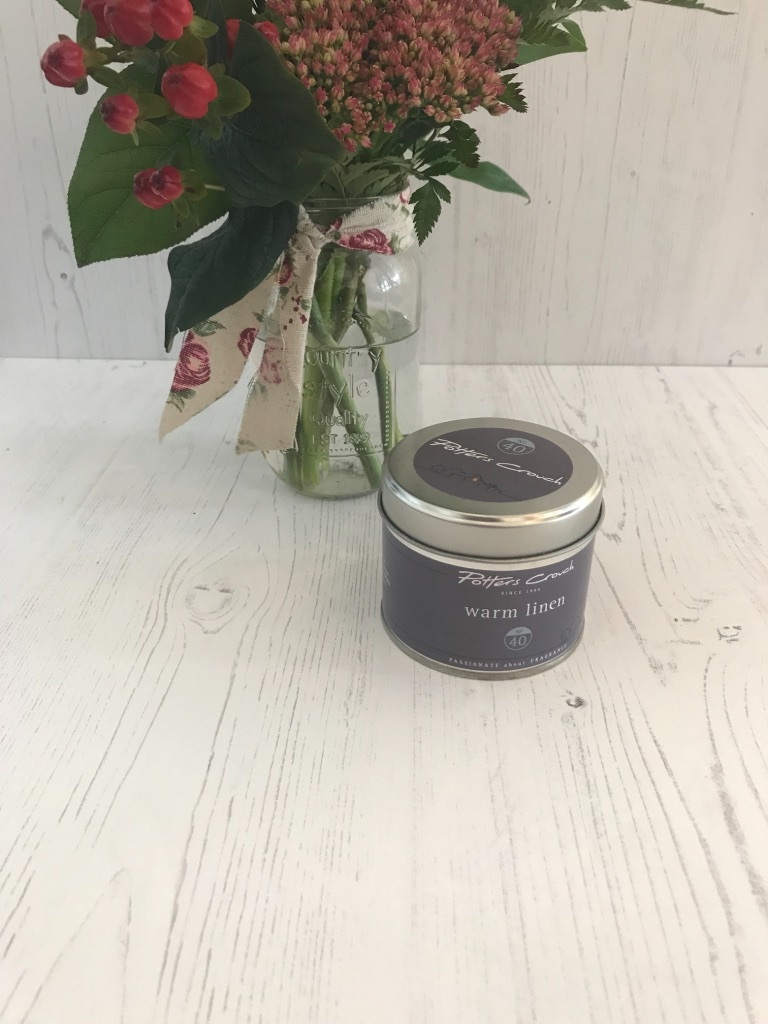 Warm Linen Candle