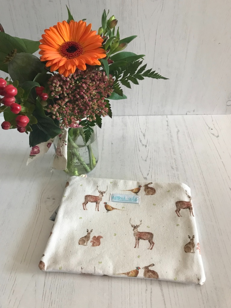 Woodland Wanders Make Up Pouch