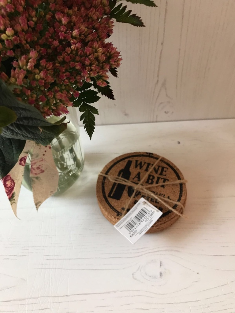 Pack of 4 Cork Coaster