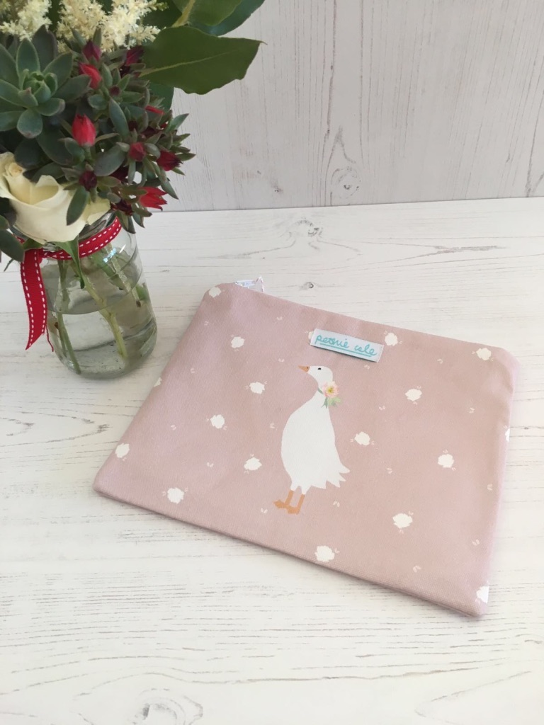 Peonie Cole Geese Blossom Pouch