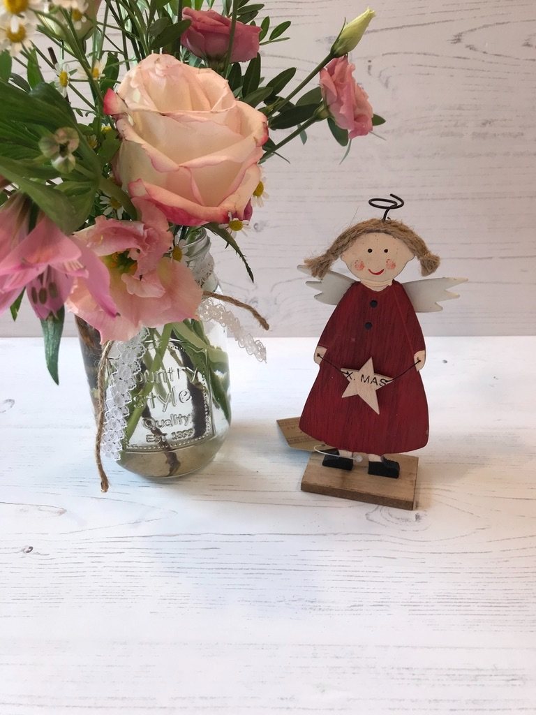 Small Scandi Angel Decoration