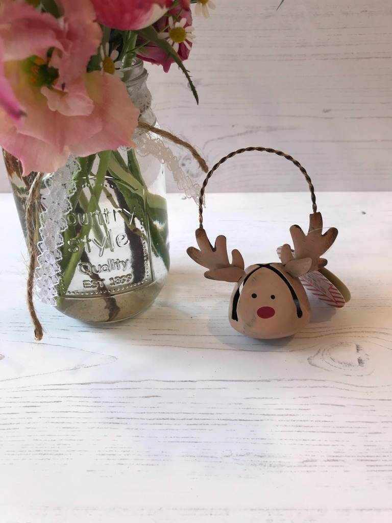 Reindeer Bell Hanging Decoration