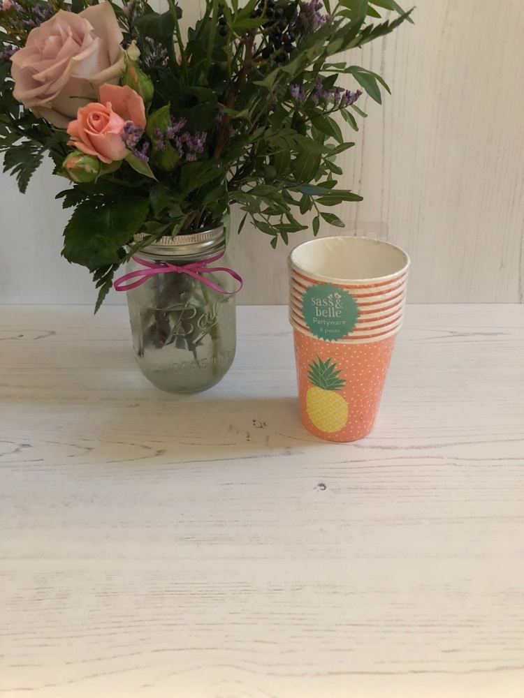 Pineapple Paper Party Cups