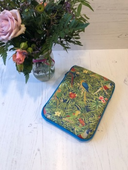 Parrot Paradise Small Tablet Case