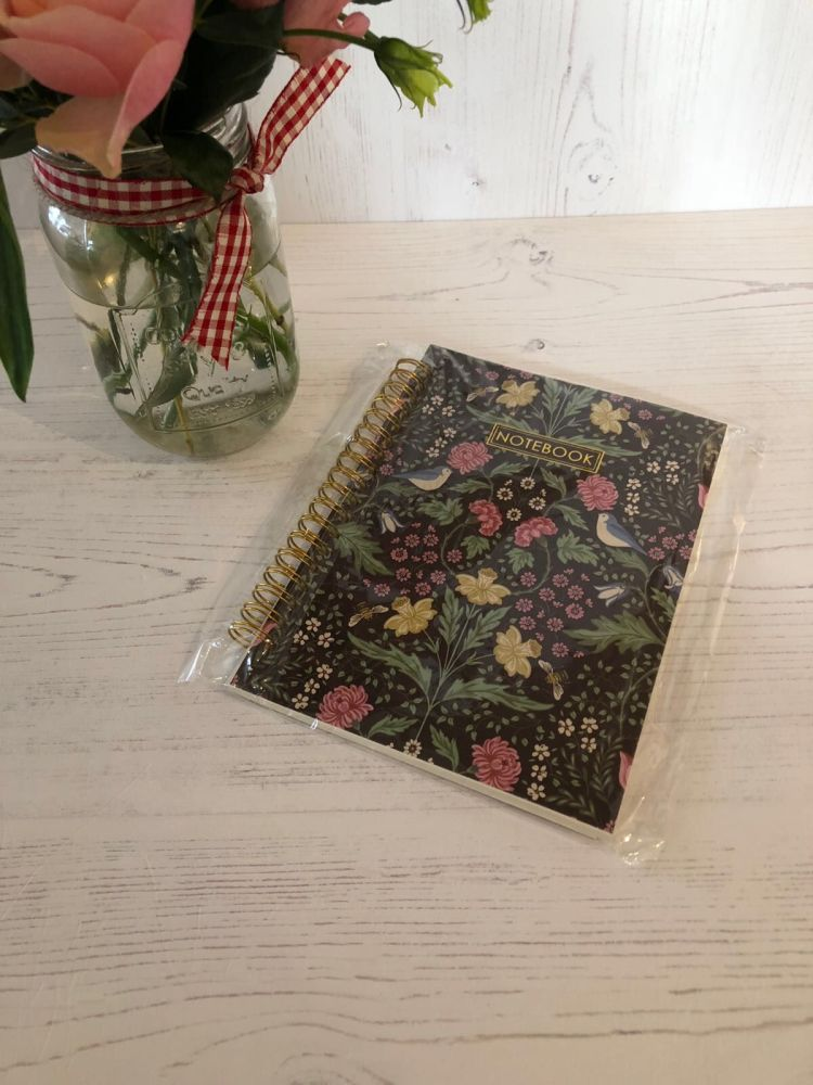 Midnight Garden Lined Notebook
