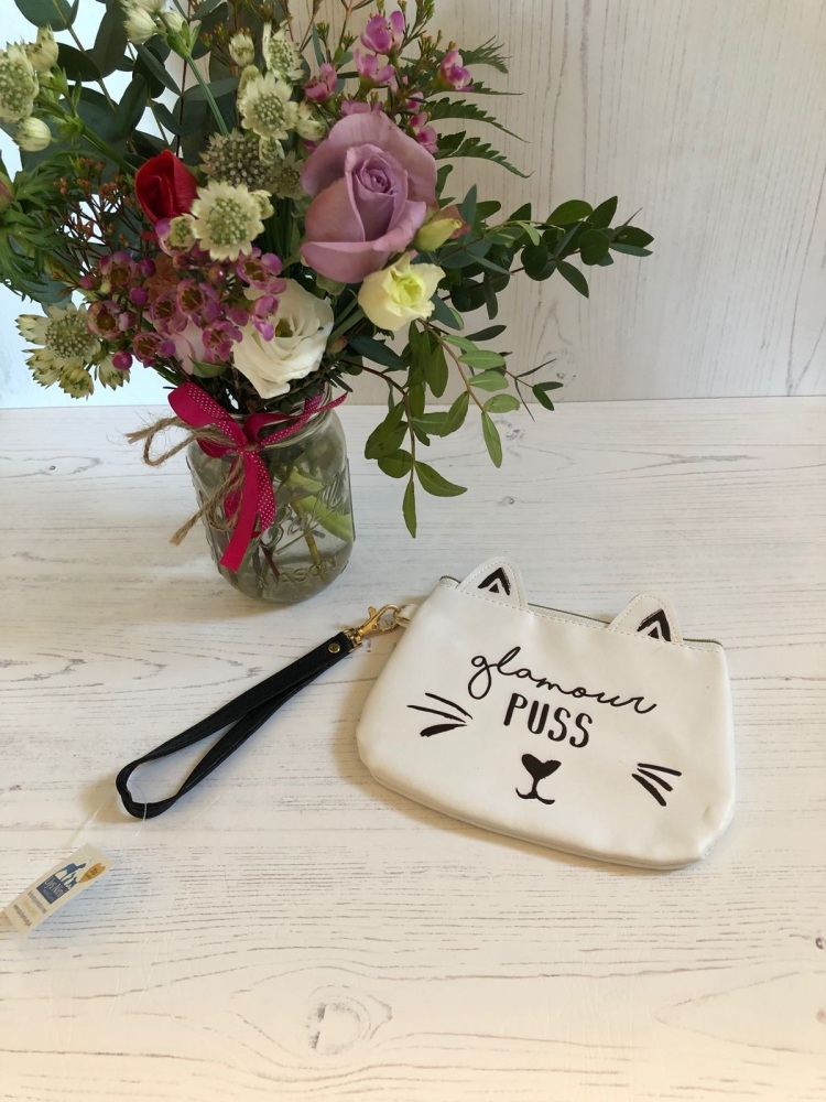 Glamour Puss Makeup Pouch