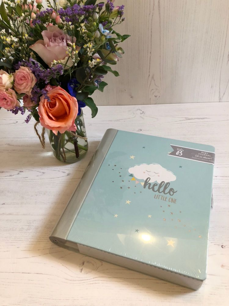 Baby Journal in Blue - Baby b