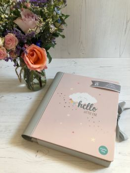 Baby Journal in Pink - Baby b