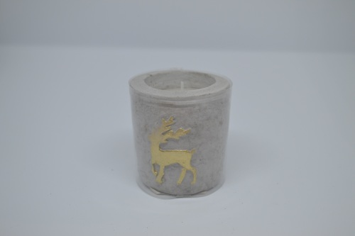 Stag Design Mortar Candle