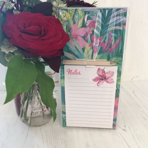 Tropical Magnetic Notepad