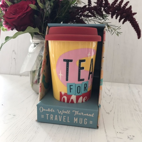 Tea For One Travel Mug
