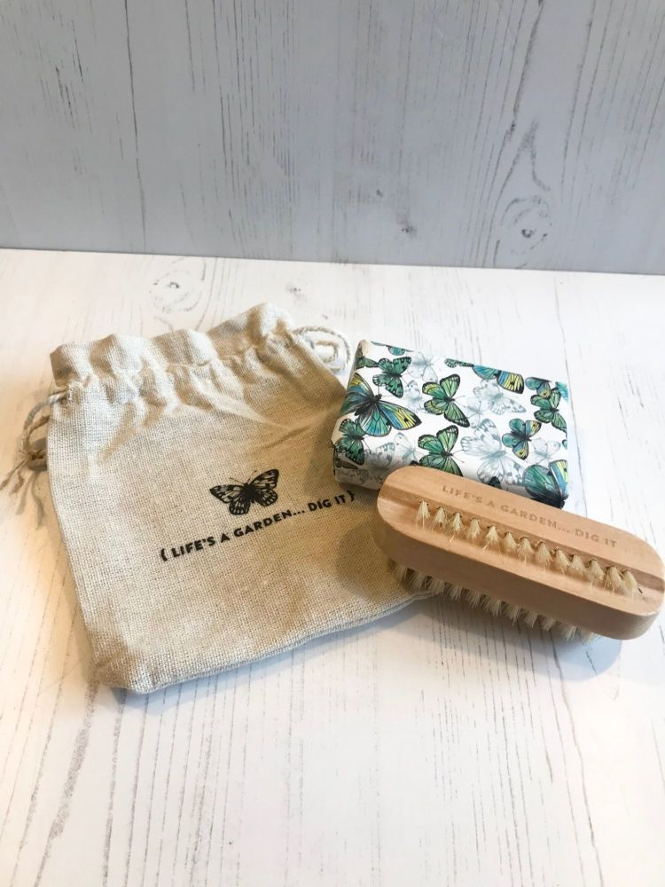 Soap and Nail Brush Set