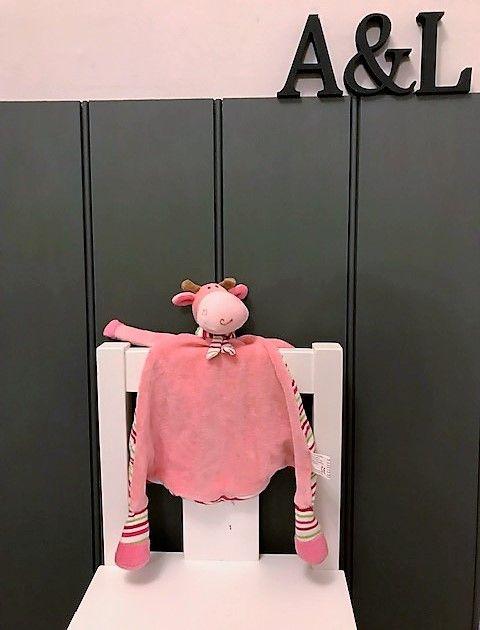 Giraffe - Pastel Pink Blankie