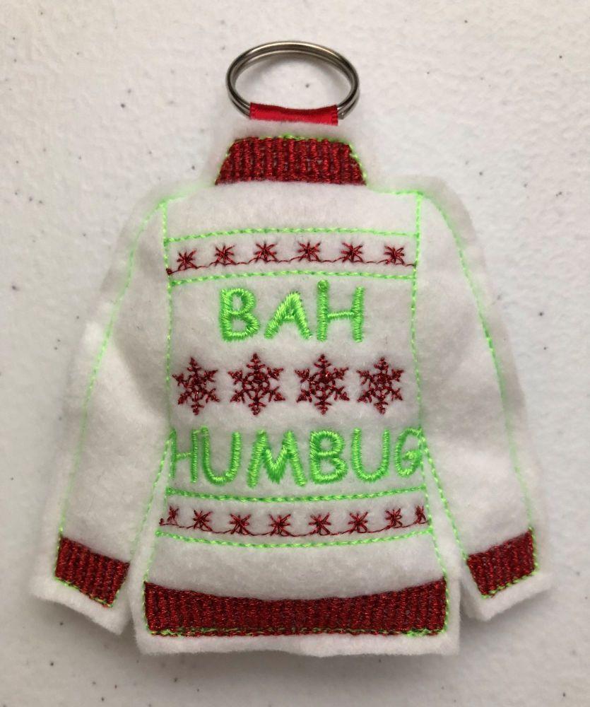 Christmas - Ugly Jumper - Bah Humbug