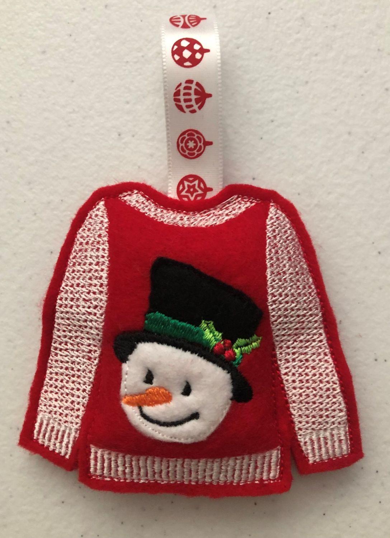 Christmas - Jumper - Snowman