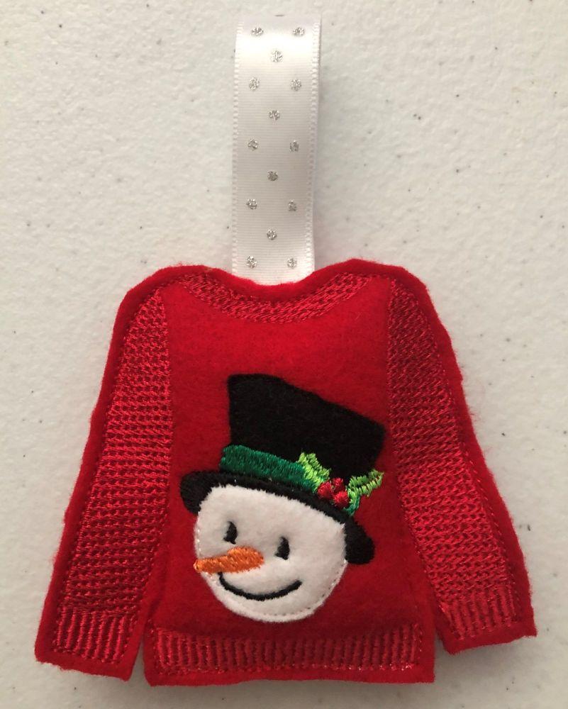 Christmas - Jumper - Snowman 2