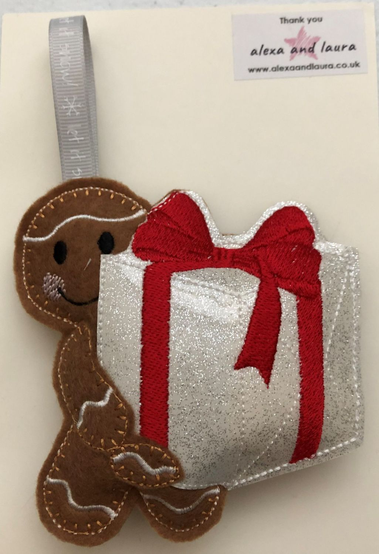 Christmas - Holding Present
