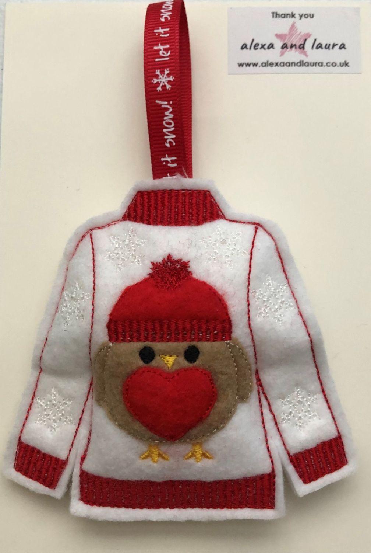 Christmas - Jumper - Robin