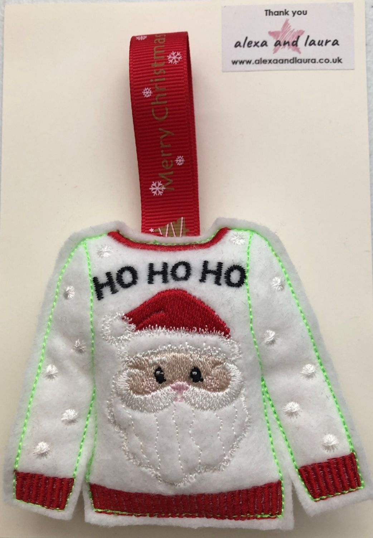 Christmas - Jumper - Ho Ho Ho