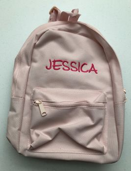 Personalised Toddler Backpack in Pink