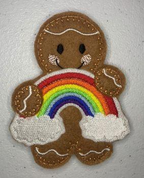 *Rainbow & Cloud Stitched *