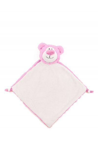 Bear - Baby Pink Blankie