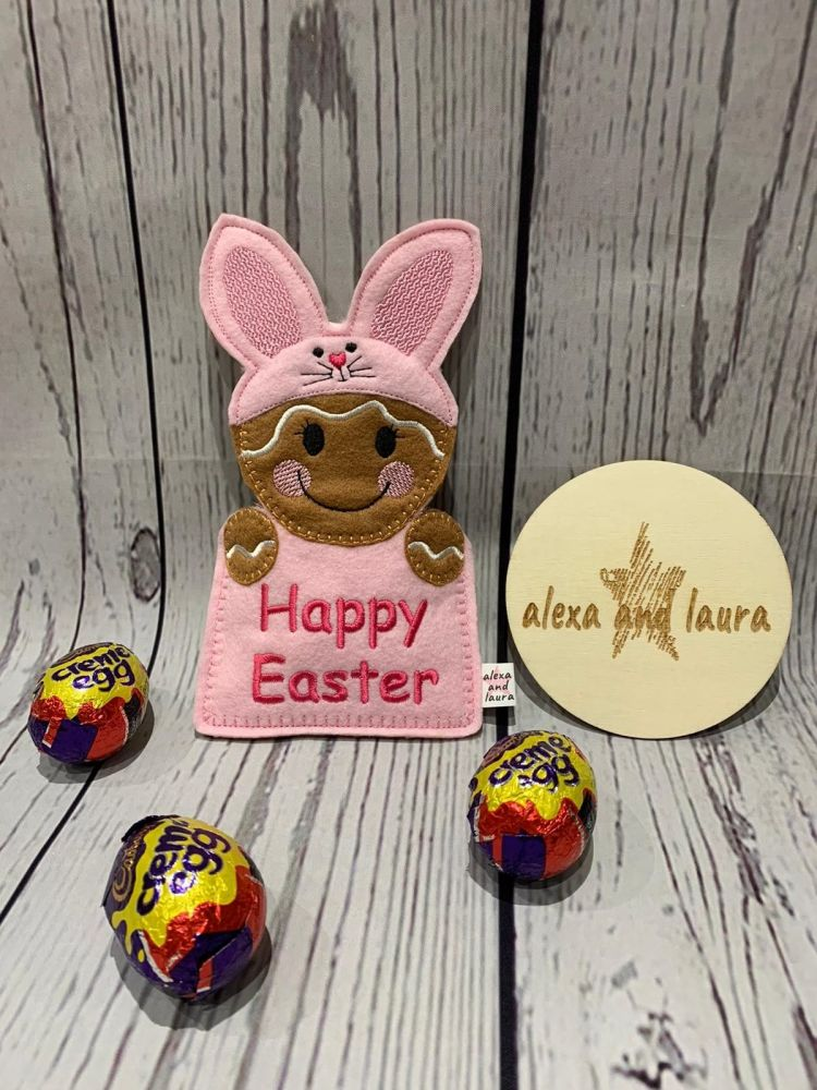 Bunny Easter Gift Pocket