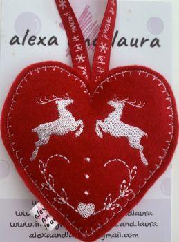 Christmas Heart - D