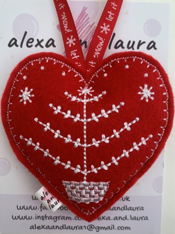 Christmas Heart - H