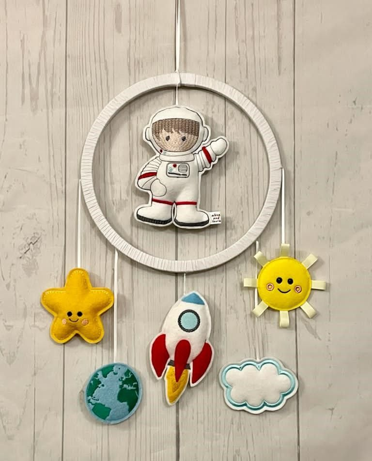 Spaceman Wall Hanging