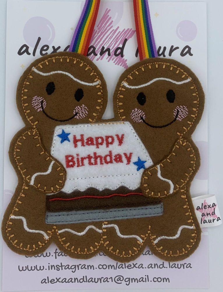 Happy Birthday Cake Couple