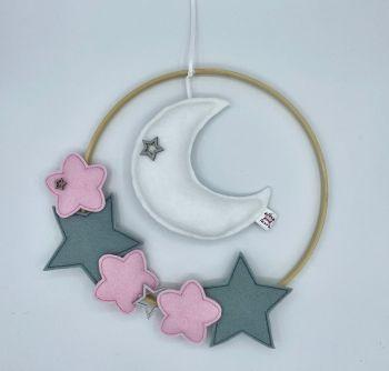 Moon & Stars Wall Hanging