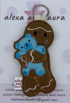 Bear Cuddle - Blue