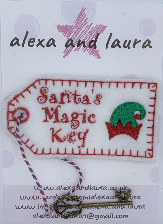 Santa's Magic Key - Elf Hat