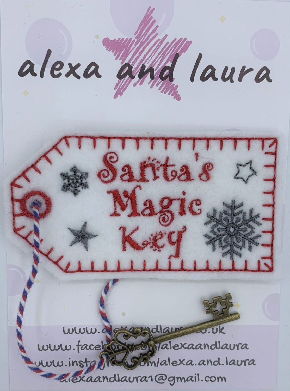 Santa's Magic Key - Snowflake