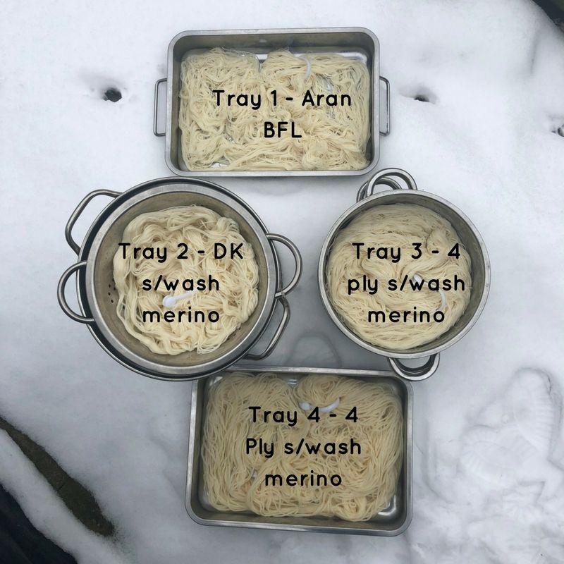 Tray 1 - Aran BFL