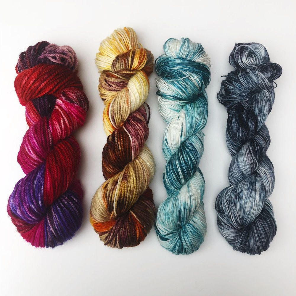 Snow Dyed Yarns
