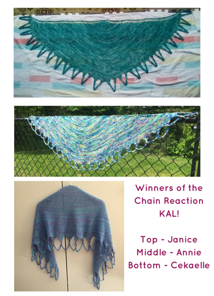 Winners of the Chain Reaction KAL!