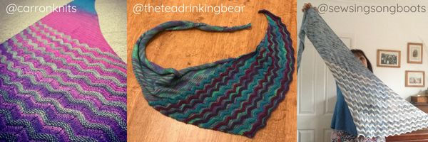 Shorelines Test Knits