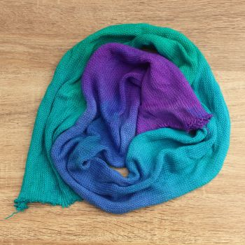 Chora Sock Blank - Aquamarine Gradient