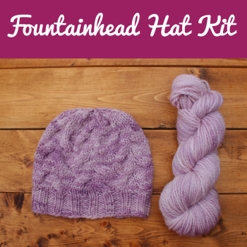 Fountainhead Hat Kit - Choose Your Colour