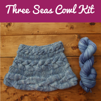 Three Seas Cowl Kit - Choose Your Colour