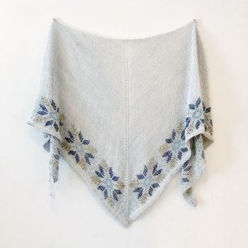 Let It Snow Shawl - PDF Knitting Pattern